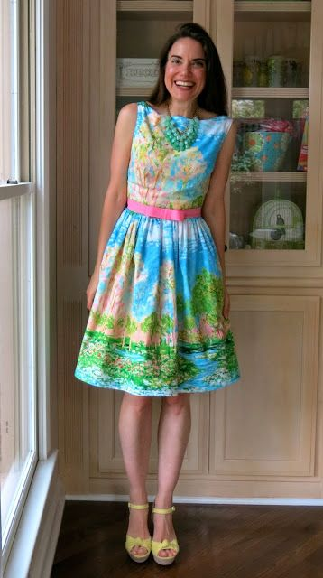 Cassie Stephens: DIY: A(nother) Monet Dress