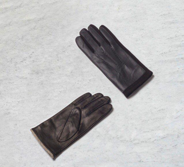The Gift   Коллекция аксессуаров AW`16  Перчатки из натуральной кожи и текстиля - 649 / 1 799 ₽   #MFIlive #gift #accessories #AW16