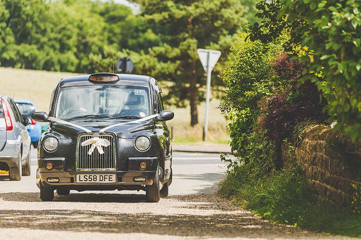 Alternative Wedding Transport Black Taxi Car