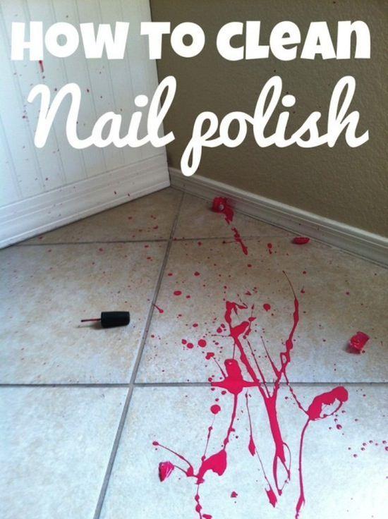 Got Nail Polish Remover On Wood Table Splendid Wedding Company