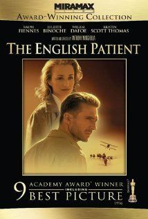 The English Patient - yes I liked this movie... I'm weird like that though. (Helloooo Ralph Finnes)