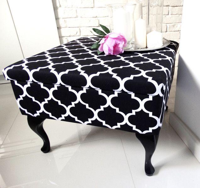 Stolik+kawowy+podnóżek+ławeczka+koniczyna+maroko+w+HouseBerry+na+DaWanda.com