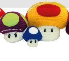 Hongos de Mario Bros