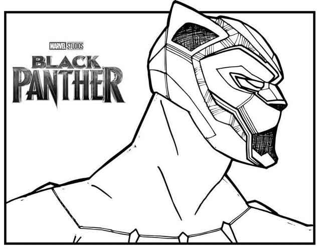 10 Best Free Printable Black Panther Coloring Pages For Kids Coloring Books Black Panther Superhero Coloring Pages