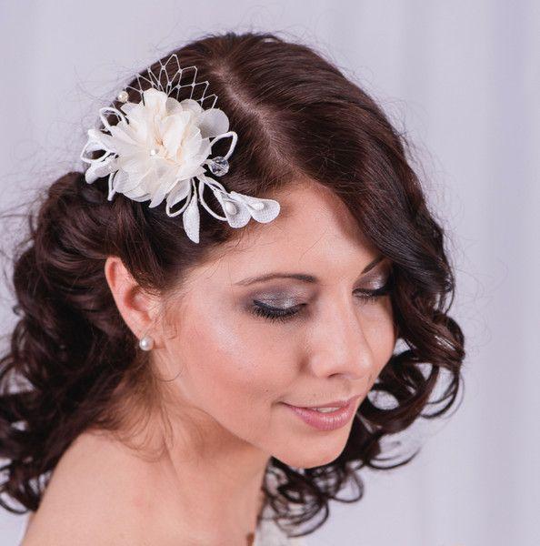 Braut haarschmuck blume  76 besten Braut Haarschmuck Wedding Headpieces Bilder auf ...