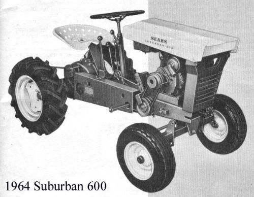 Sears Small Tractors : Late s sears tractors mytractorforum the