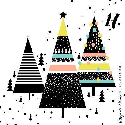 dottywrenstudio: advent ... day 17