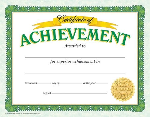 The 25+ best Attendance certificate ideas on Pinterest List of - attendance certificate template