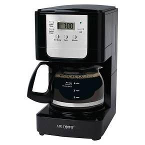 Mr. Coffee® Advanced Brew 5 Cup Coffee Maker - Black JWX3 : Target
