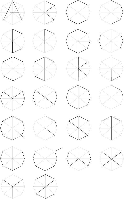 Typeface hexagon by Vorakit Nontiboot, via Behance