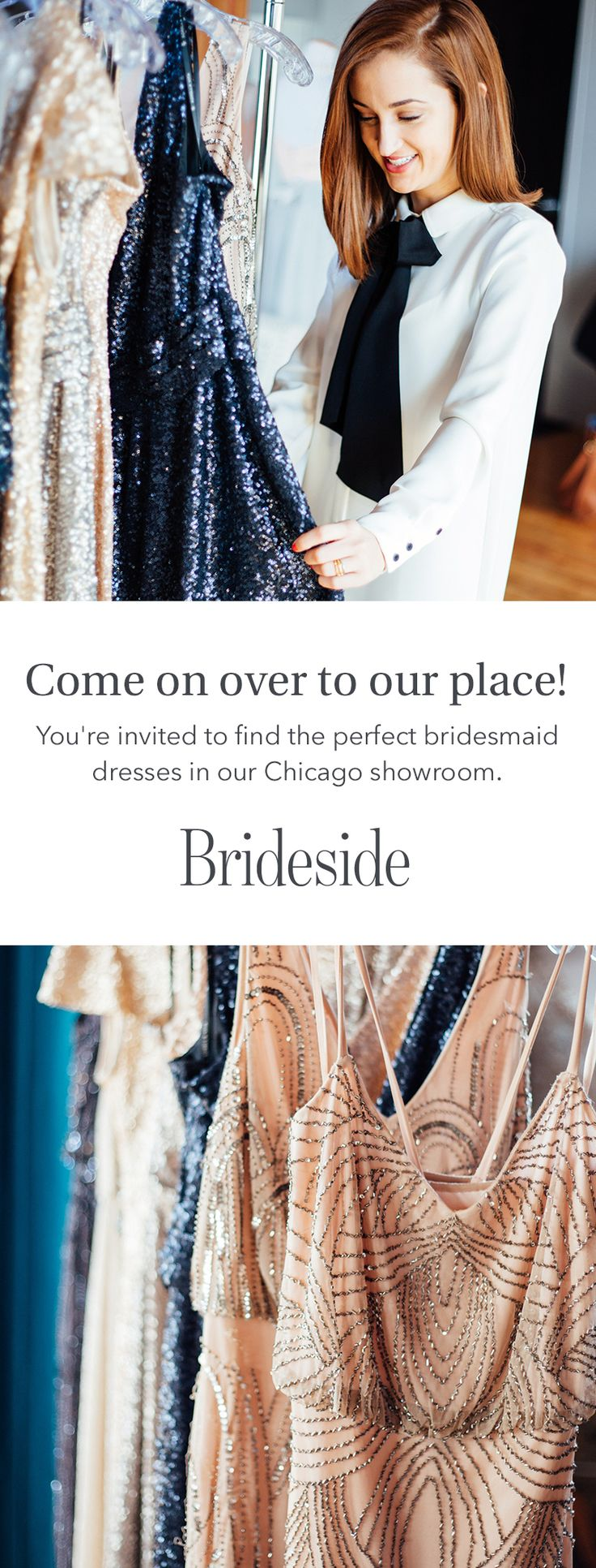 Let's get this (bridal) party started.     https://brideside.com/?utm_campaign=accessories&utm_source=pinterest&utm_medium=11.3p