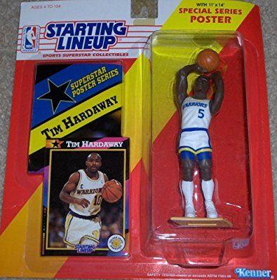 1992 NBA Starting Lineup - Tim Hardaway - Golden State Warrior