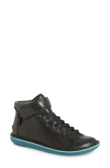 Free shipping and returns on Camper 'Beetle' High Top Sneaker (Women) at Nordstrom.com. Lightweight high-top construction defines a stretch-fit sneaker in textured leather. A striped midsole adds a pop of color to the street-chic style.
