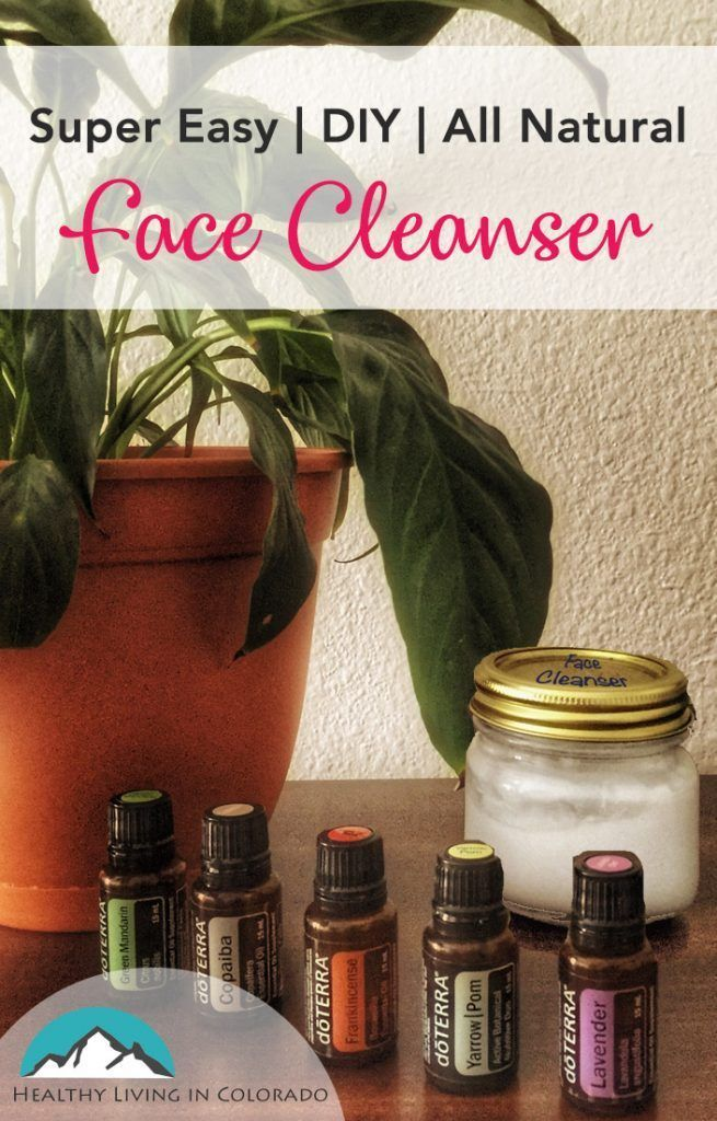 Super Easy Diy All Natural Face Cleanser Natural Face Cleanser