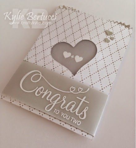 Stampin' Up! Occasions Catalogue/catalog mini Treat Bag Thinlits, Your Perfect Day Stamp set, wedding. Kylie Bertucci