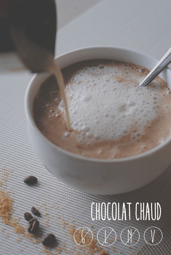 La prémisse: CHOCOLAT CHAUD