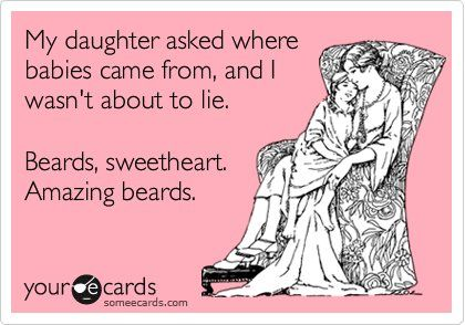 Love my bearded man!