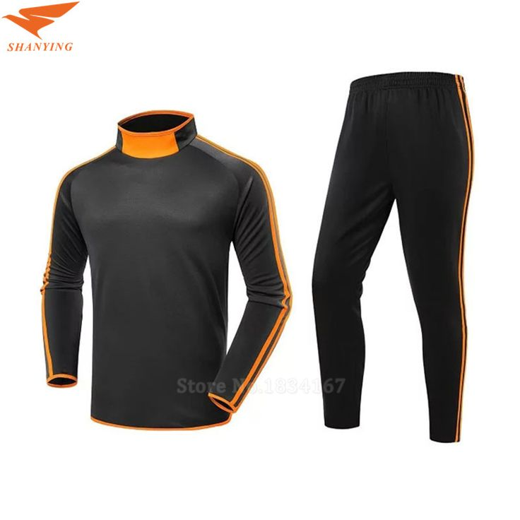 ==> [Free Shipping] Buy Best Soccer Tracksuit Men Long Sleeve Sport Uniforms Training Suit Survetement Football 2017 Chandal Futbol Sweater With Pants Online with LOWEST Price | 32807177080