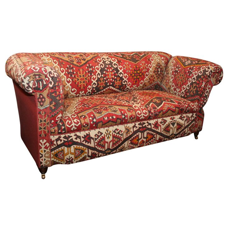 Antique Kilim Covered Sofa/Convertible Day Bed | Moorish, Classic Furniture  And Kilims