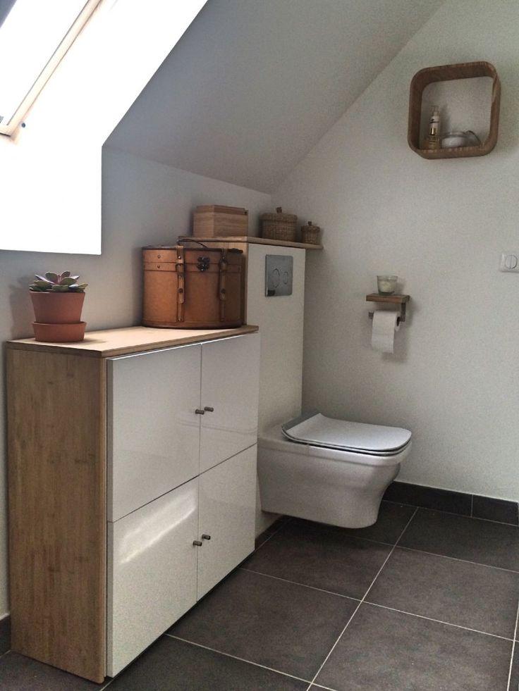 fabulous a y est la faence les meubles et les wc sont poss a avance et a fait plaisir on. Black Bedroom Furniture Sets. Home Design Ideas