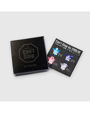 K2POP - [CNBLUE] CNBLUE CAN'T STOP KEY HOLDER (RANDOM DELIVERY)