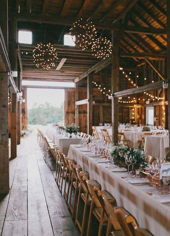 17 best ideas about rustic wedding venues 2017 on for Wedding venue decoration ideas pictures