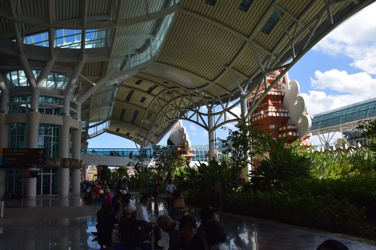 Bali's international Airport is expanding with beautiful local architecture