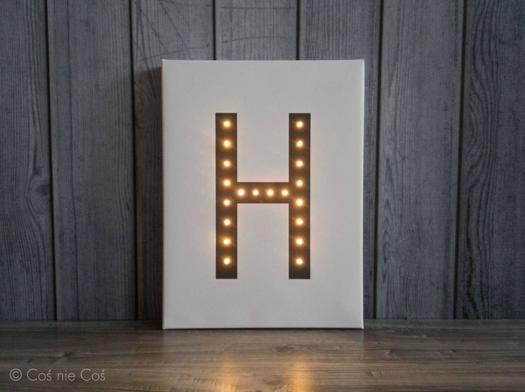 Light up letters, letter lights, nordic design, led letters, marquee letter, custom, A B C D E F G H I J K L N O P Q R S T U V W X Y Z & by COSnieCOS on Etsy