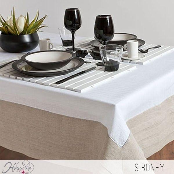 Mantel Siboney Elegante mantel con sobrios colores. ...