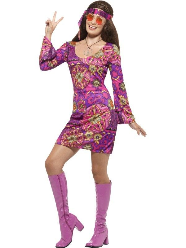 ef75b0205e397d Woodstock Hippie - Foute party kleding dames - Foute party kleding - Top  thema s