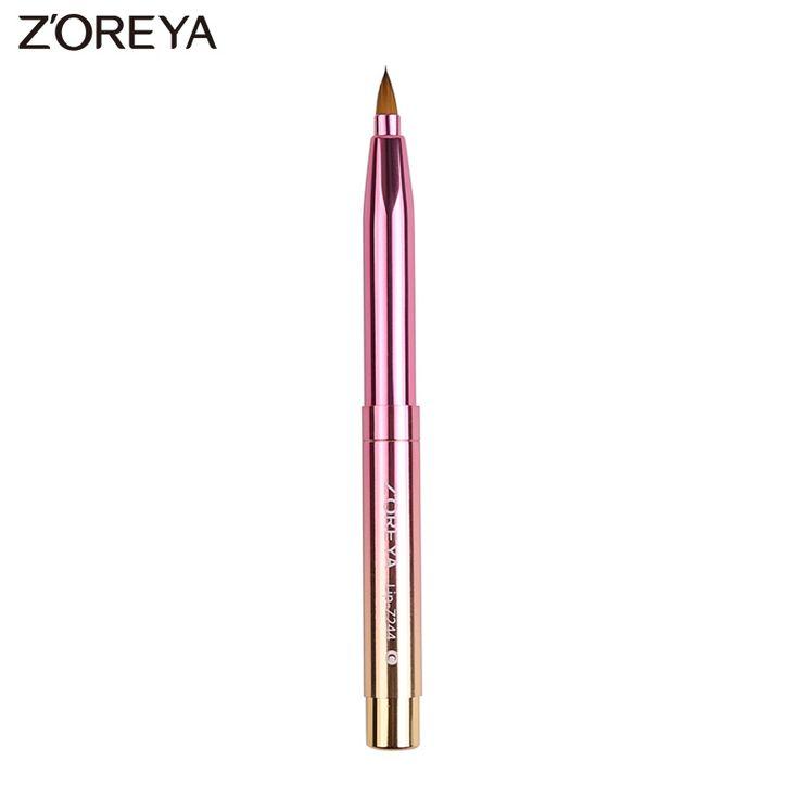 ZOREYA Brand New arrive 1pcs Retractable Lip Brushes Makeup lip brush Beauty  Make Up Cosmetics tools