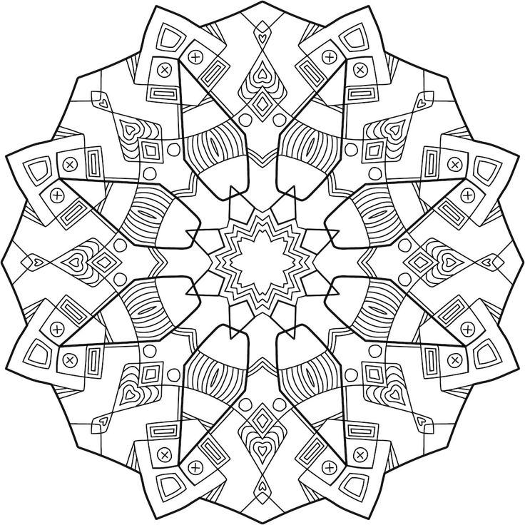 169 best Printable Mandalas to Color - Free images on Pinterest ...