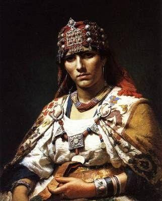 Algerian Berber Kabyle Woman | A Etno Stile... | Pinterest
