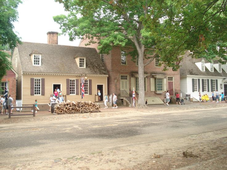 Colonial Williamsburg. You've got to go. If you're not a history buff, go for the root beer! It's fantastic!!