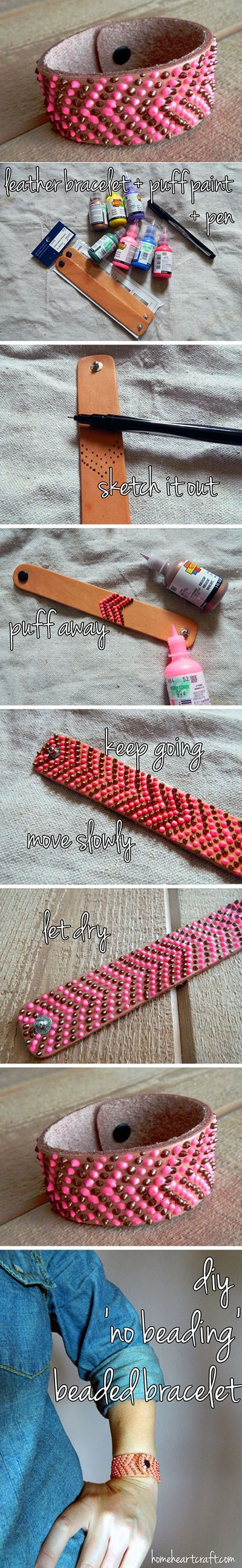 Diy Beautiful Pink Bracelet | DIY & Crafts Tutorials