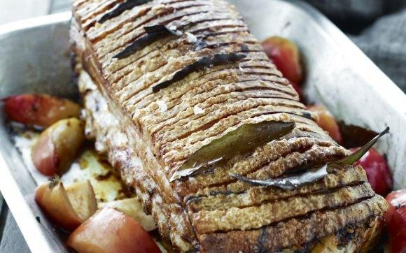 Sådan laver du flæskestegen - mad   www.b.dk