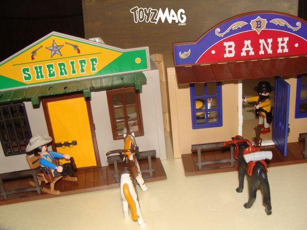 ToyzMag.com » Playmobil Western : Review Coffret de cow-boy transportable (4398)