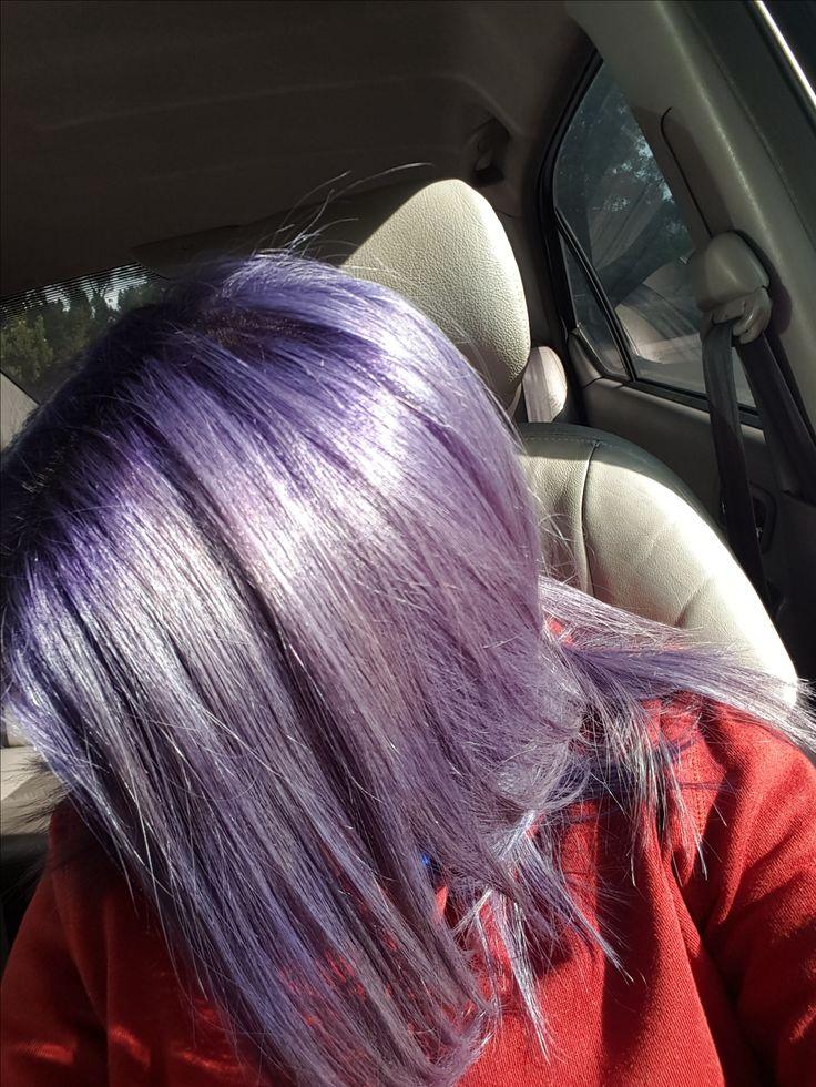 Ion Color Brilliance Semi Permanent Purple mixed with Titanium