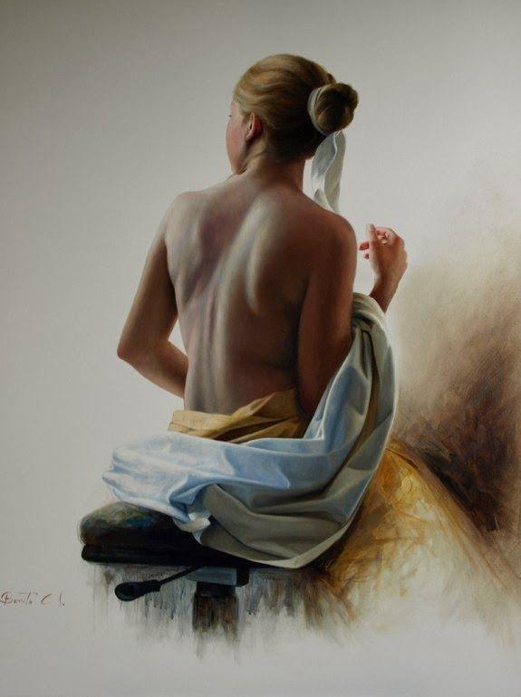 ..... @ Benito Cerna, 1960 ~ Figurative painter
