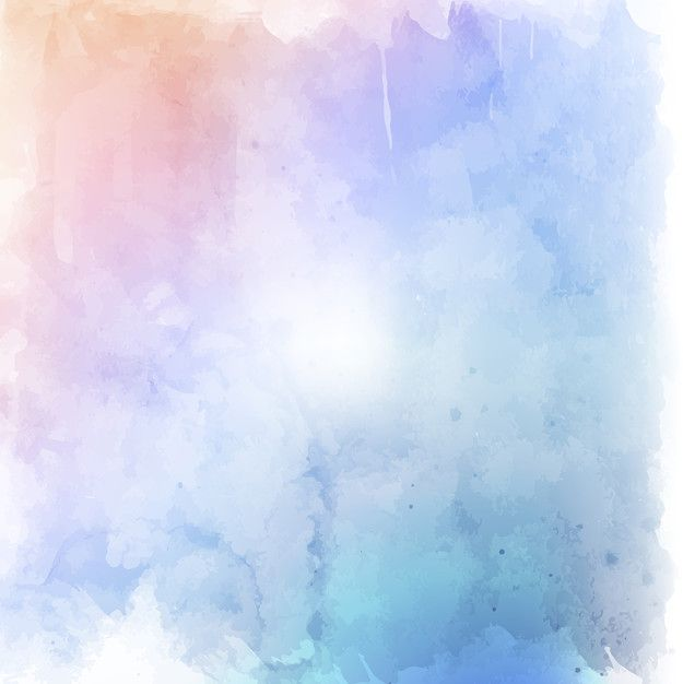 Colorful watercolor texture Free Vector