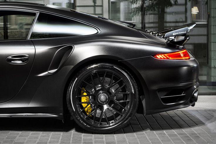 Porsche Dark Knight 911 Turbo S by Auto-Dynamics
