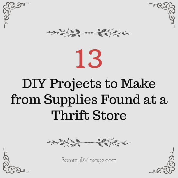 One person's trash is another person's treasure. It's amazing what you can find at a thrift store. Even more amazing is what you can do with those finds! From turning ashtrays into coasters to pet beds made out of old … Continue reading →