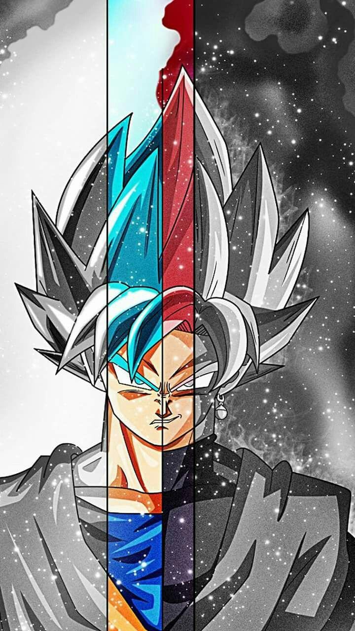 Art - fusion all super Saiya Son Goku #futboldibujos #futbolfrases