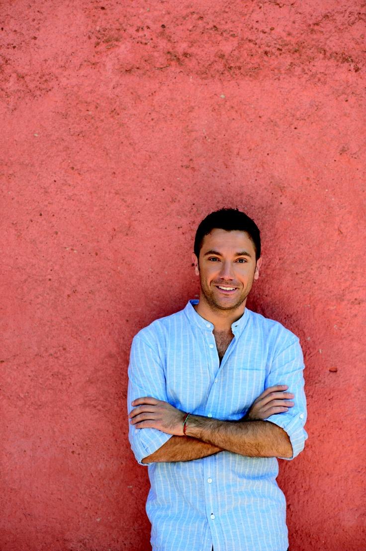 Gino D'Acampo gefotografeerd door Kate Whitaker.