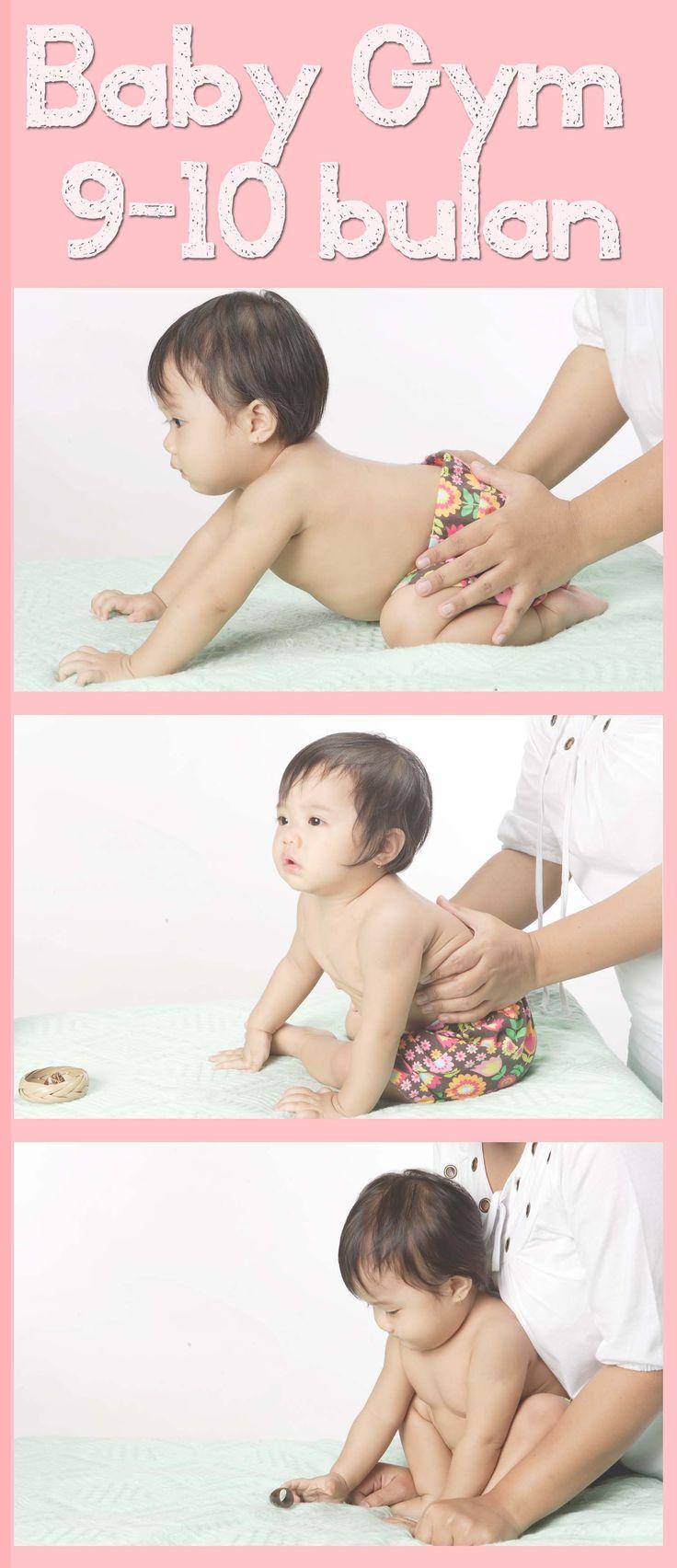 Baby Gym untuk 9-10 bulan :: Baby Gym for 9-10 month