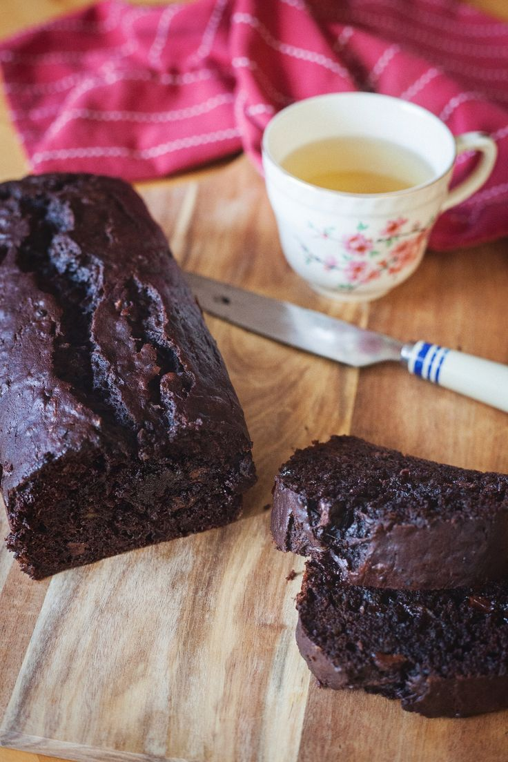 Best Ever Chocolate Zucchini Bread // by Lesley Stowe Fine Foods