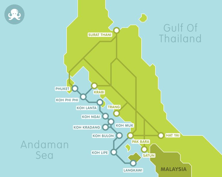 Exploring the islands of the South of Thailand has never been easier with our network of boats, buses and taxis. Find the best connections to Koh Lipe, Phi Phi, Lanta, Phuket, Krabi, Hat Yai and many more destinations.