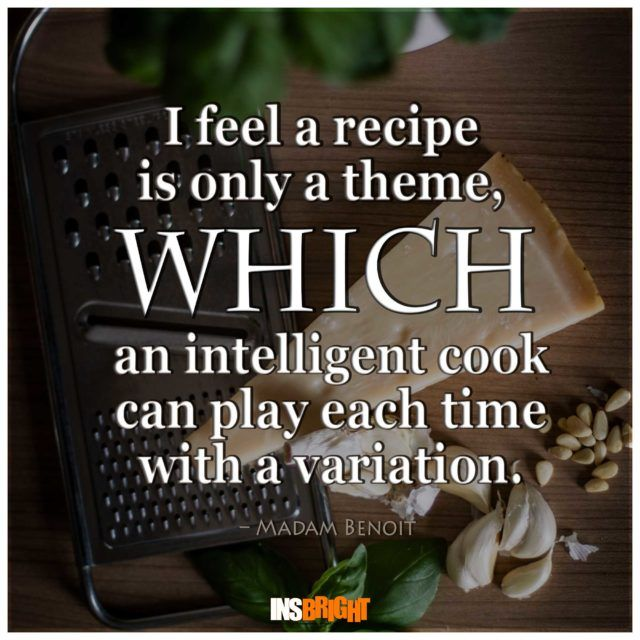Inspirational cooking quotes With Images From Famous Chefs