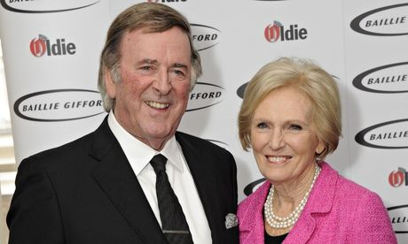 Great British Bake Off's Mary Berry named Oldie of the year