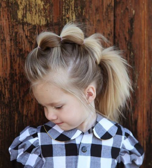 Mohawk Braid toddler girl hairstyles